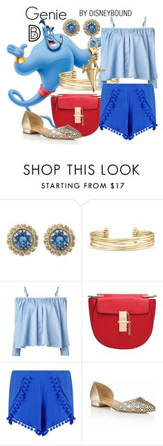 """""""Genie"""" by leslieakay ❤ liked on Polyvore featuring Ted Baker, Stella & Dot, Sandy Liang, Talbots, Disney, disney and disneybound"""