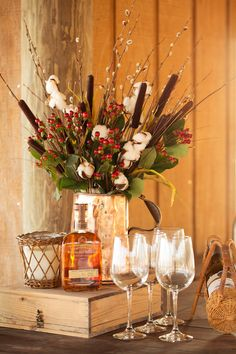 Fall dinner party centerpiece. #holiday #entertaining