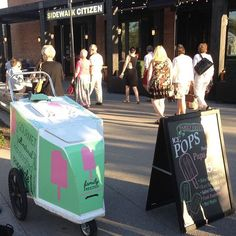 Come on down to Opera In The City today through Sunday and grab some pops #yycpops #familyfreezed #iamdowntown #eastvillageyyc #operainthecity #calgaryopera #yycevents #yycliving #icepops #downbytheriver #operafest