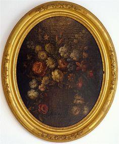 Grande Nature Aux Fleurs, D'une Paire, Ecole Française 1820 Huile/toile, ARTE TRES GALLERY, Proantic