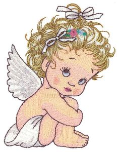 OregonPatchWorks.com - Sets - Licensed Morehead Collection: Cherished Angels Hand Embroidery Tutorial, Free Machine Embroidery Designs, Towel Embroidery, Embroidery Applique, Disney Quilt, Bordado Floral, Cool Art Drawings, Flower Art, Janome