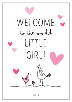 Welcome little girl | Elske | www.elskeleenstra.nl
