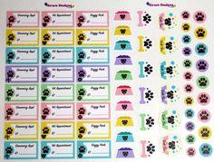 EC Planner Stickers Dog Activity & Appointment Planner Stickers -  Planner Stickers, LimeLife, Inkwell, Plum Paper, Filofax