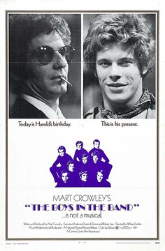 The Boys in the Band (1970) starring Frederick Combs, Leonard Frey, Cliff Gorman, Reuben Greene, Robert La Tourneaux, Laurence Luckinbill, Kenneth Nelson, Keith Prentice & Peter White. 30/11/04