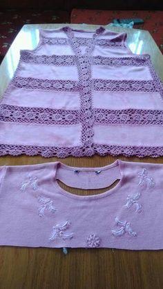 DIY.. Crochet Fabric, Crochet Top, Diy Crochet, Granny Square Tutorial, Crochet Shawls And Wraps, Tear, Crochet Clothes, Sewing, Knitting