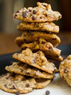 Walnut Lovers' Chocolate Chip Cookies. #vegan