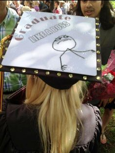 Tassel Topper - Graduation Cap Decoration Like a Boss by TasselToppers, via Flickr