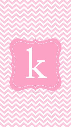 Create--Printables & Backgrounds/Wallpapers: iPhone 5 & New iPod Pink Chevron Wallpaper, Monogram Wallpaper, Flowery Wallpaper, Alphabet Wallpaper, Iphone 5 Wallpaper, Wallpaper For Your Phone, Cellphone Wallpaper, Screen Wallpaper, Wallpaper Quotes