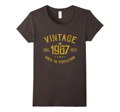 Vintage 1967 T-Shirt 50 years old B-day 50th Birthday Gift