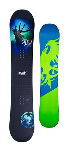 Never Summer West Snowboard - Men's Snowboards - Men's Snowboarding - Colorado Snowboarding - Winter 2015/2016 - Christy Sports