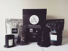 The AeroPress Gift Box is here! And it's beautiful!  What you get:  1 x 250g Light  Bright Roast 1 x 250g Dark  Bold Roast 1 x AeroPress Coffee Maker  Cost: $70.00 Value: Priceless  Available this weekend from:  Smart Living Market   Sat 9-1 Buninyong Twilight Market   Sat 4-8 Aireys Inlet Market   Sun 9-1  and from:  Golden Point Cafe   Mon - Fri 6-3.30  #engacoffee #coffee #organic #sustainable #singleorigin #coffeeroaster #PNGcoffee #farmersmarket #freshlyroasted #Ballarat #Buninyong…