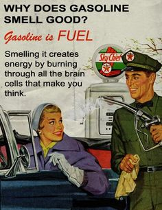 Gasoline. What?????