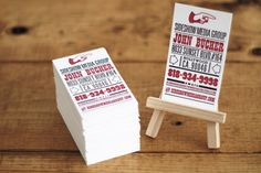 Business Card Fun - or larger ones for rack cards