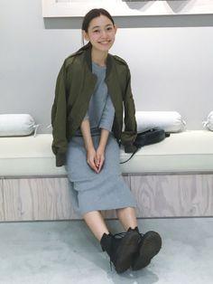NERGYのブルゾンを使った阿久津ゆりえのコーディネートです。WEARはモデル・俳優・ショップスタッフなどの着こなしをチェックできるファッションコーディネートサイトです。