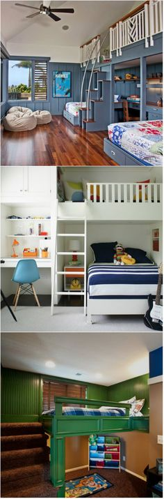 20 Loft Beds with Desk For Boys Bedrooms Are you looking for a loft bed that is perfect for your children? Well, for younger kids they would prefer those where they can play and hide. They might even want something that comes with a theme. For teenagers, they would love to get a loft bed...