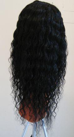 Brazilian Virgin unprocessed deep wave U-part wig