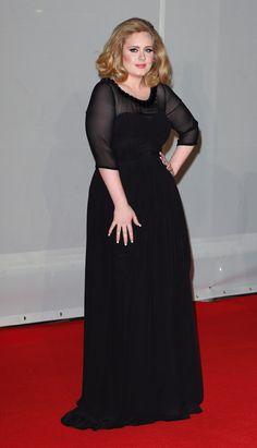 Adele en Brit Awards 2012