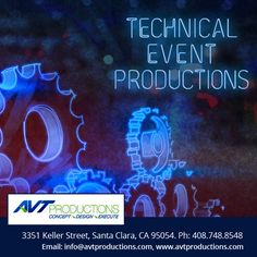 AVT Productions offers full service Technical #Event #Production for Corporate & Social Event in Bay Area San Francisco.