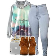 1 week till ma birthdayyy by babygirlslayy on Polyvore featuring polyvore, fashion, style, Minnetonka, Reeds Jewelers and Case-Mate