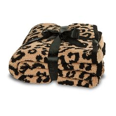 Barefoot in the Wild - Leopard Print Throw