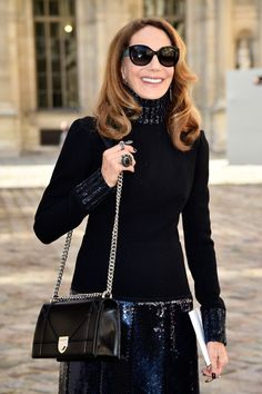 Marisa Berenson Photos - Marisa Berenson attends the Christian Dior show as part of the Paris Fashion Week Womenswear Fall/Winter 2015/2016 on March 6, 2015 in Paris, France. - Arrivals at Christian Dior