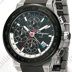 Salvatore Ferragamo F-80 Chronograph GMT Manual