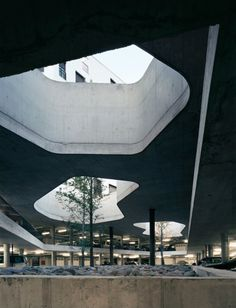 Underground Architecture, would be cool to apply it to parking garages