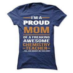 #T-Shirts... Awesome T-shirts  Price :$21.00Buy Now    Discount Codes   View pictures & photographs of chemistry teacher mom t-shirts & hoodies:If you do not completely love our design, you possibly can SEARCH your favourite one through the use of search bar o....