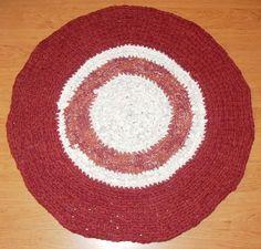 DIY Häkelteppich Crochet Rug     In liebevoller Handarbeit     Dieser Teppich ist ein *Unikat*    Farbabweichung durch Digitalaufnahme möglich.     ...