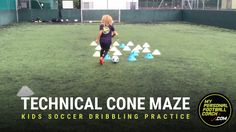 This kids soccer dribbling drill is ideal for U8-U12 but is suitable for all ages. Its all about technical excellence, explosive movements and skill acquisition.