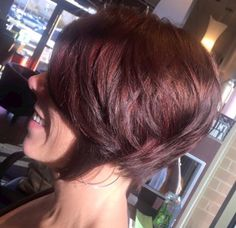 Bob+Haircuts+with+Brazilian blowout and A-line bob haircut