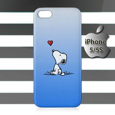 Snoopy iPhone 5 5s Case Cover Hardshell
