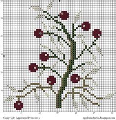 Toutes les tailles | Winterberries_Free_Pattern | Flickr: partage de photos!