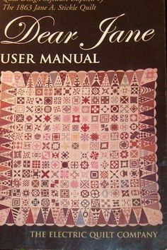 Dear Jane Quilt Software Manual * To view further for this item, visit the image link.