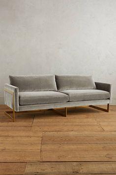 Velvet version of this sofa; good color? Velvet vs subvelvet?