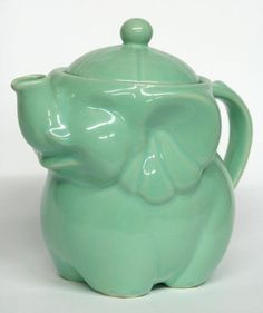 Shawnee Pottery elephant tea pot.  : )