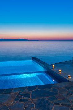 Villa Kyma Chania Crete. How Romantic <3