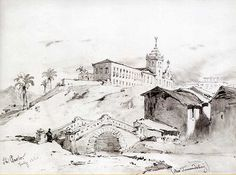 São Paulo, Rio Tamanduatei, junho de 1844 by Paulo Rezzutti, via Flickr