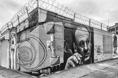Graffiti / Street Art @ Bushwick, Brooklyn, NYC   Street Art   Street Artists   Art   modern art   urban art   urban artists   graffiti   mural   travel   Schomp MINI