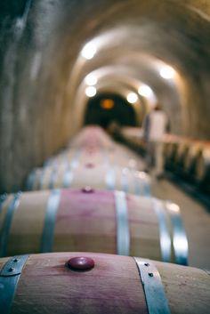 Wine Barrels at Newton Vineyard, Napa Sangria Wine, Napa Valley Wineries, Wine Glass Holder, Cheap Wine, Wine Delivery, Gal Meets Glam, Weekend Getaways, Gourmet