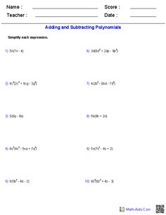 Worksheet Multiplying Monomials And Polynomials Worksheet worksheets algebra 2 and on pinterest multiplying a monomial polynomial worksheets
