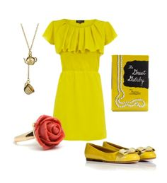Disney-princess-outfits  Belle from Beauty & the Beast