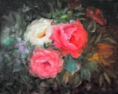 GARY JENKINS - 105098721814206898449 - Picasa Web Albums Art Floral, Gary Jenkins, Greeting Card Companies, Bob Ross, Art Store, Oil Painting On Canvas, Oil Paintings, Art Reference, Still Life