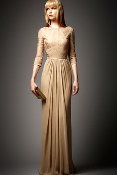 Elie Saab Pre-Fall 2012 Fashion Show - Josephine Skriver (IMG)