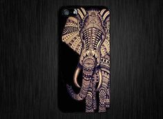 aztec elephant. Iphone 5S and iphone 5C case. by ANikisins on Etsy, $15.69