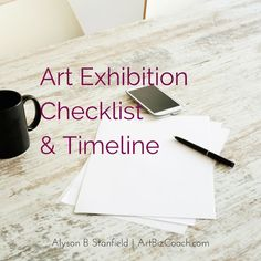 exhibition checklist
