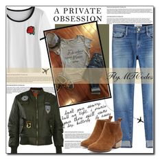 """""""Get in the plane and go on an adventure"""" by polybaby ❤ liked on Polyvore featuring Frame and Pilot"""