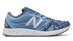 best sneakers dfee4 84ed0 Fresh Foam Graphic Trainer, Deep Porcelain Blue with Bleached Sunrise.  DesignerskorTräningsskorSoluppgång