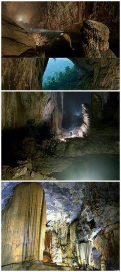 Han Son Doong Cave, Vietnam