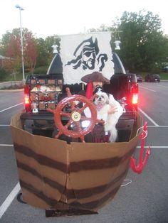 Pirate trunk or treat www.suntrupbuickgmc.com #Rachel